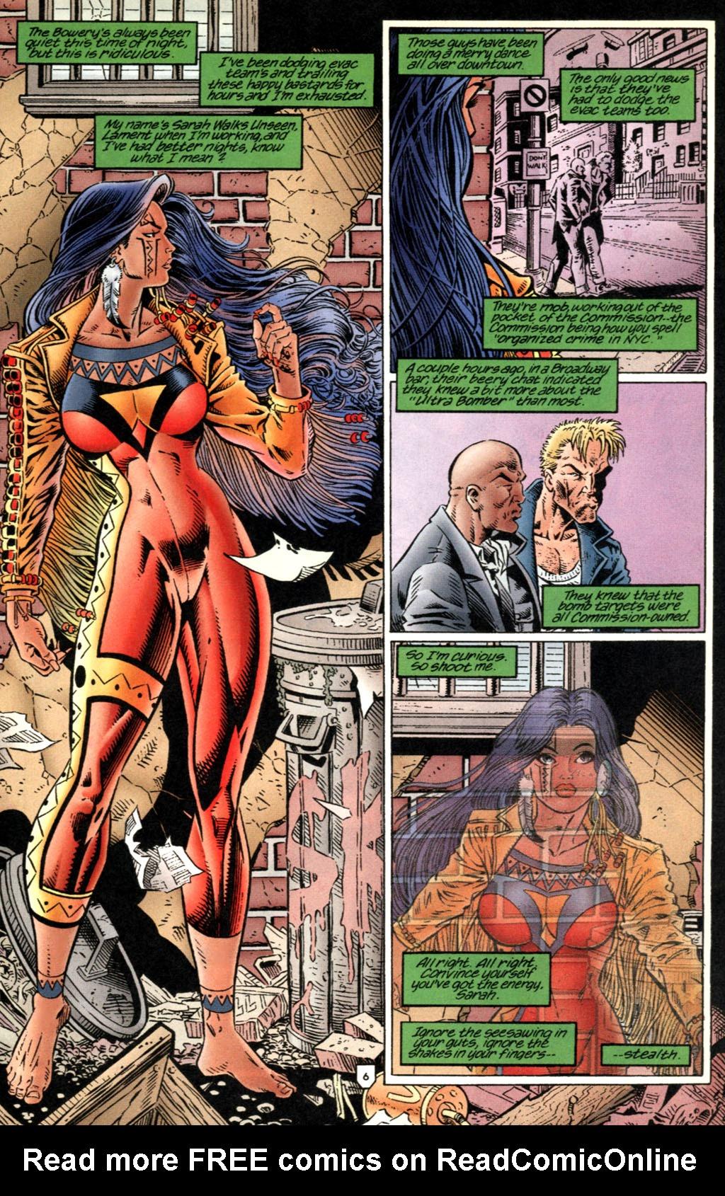 Read online UltraForce (1995) comic -  Issue #2 - 7