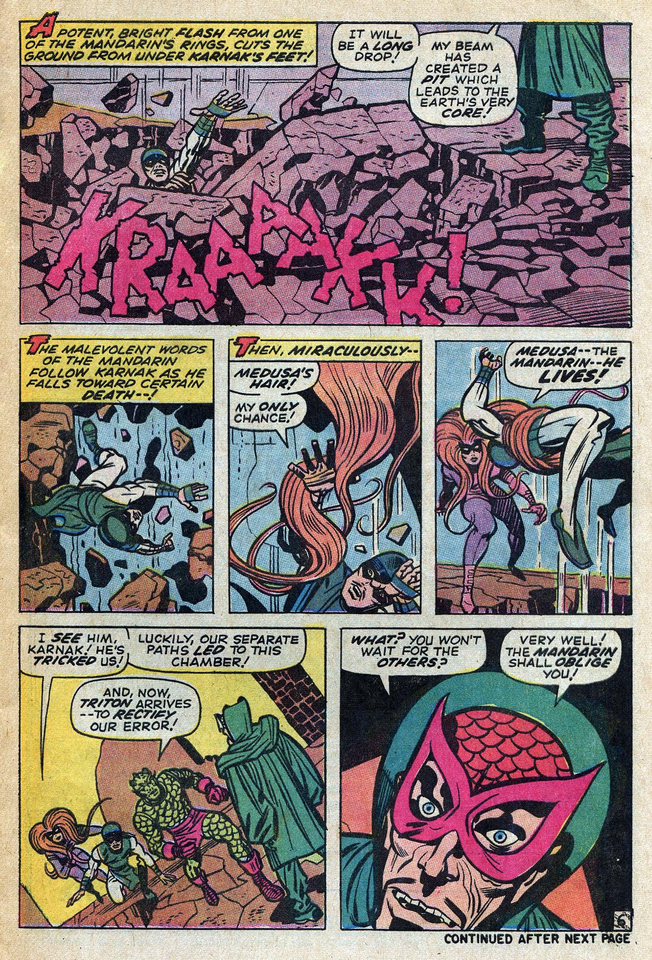 Read online Amazing Adventures (1970) comic -  Issue #4 - 9
