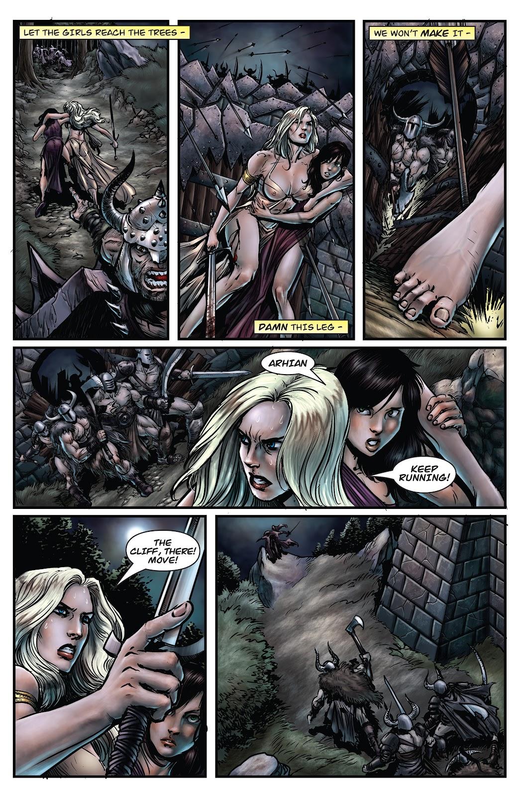 Arhian Head Huntress Issue 1 | Read Arhian Head Huntress