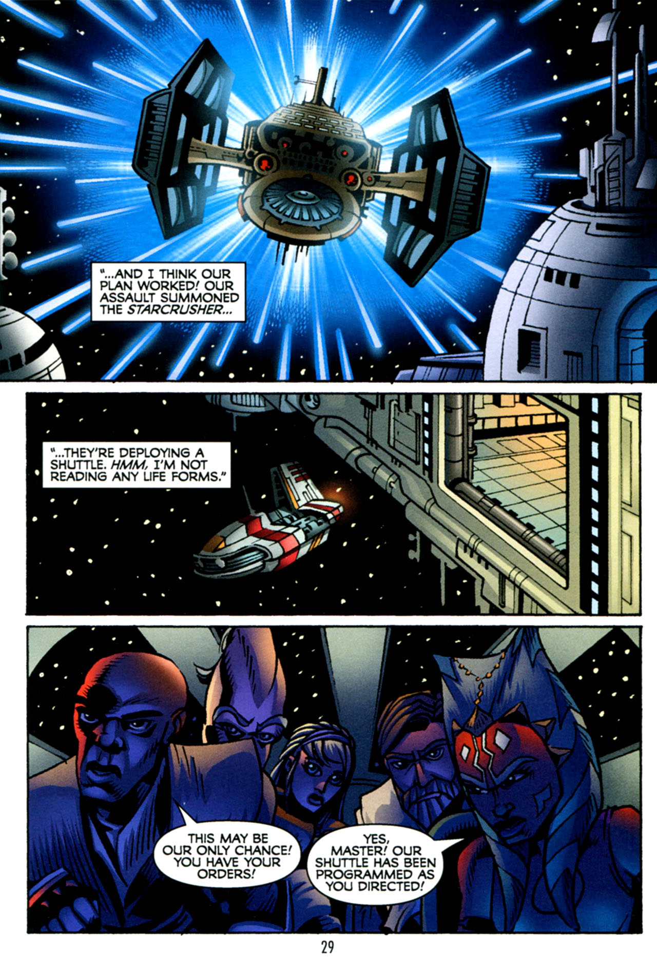 Read online Star Wars: The Clone Wars - The Starcrusher Trap comic -  Issue # Full - 30