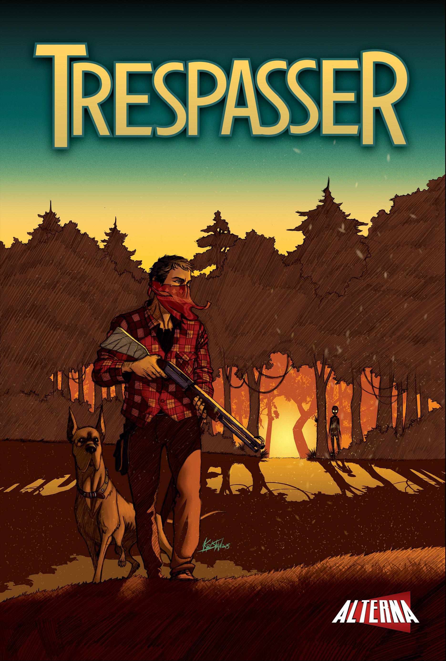 Read online Trespasser comic -  Issue #1 - 1