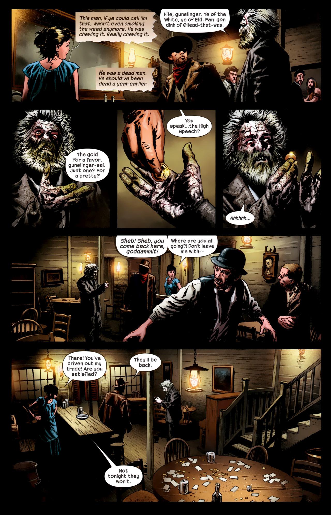 Read online Dark Tower: The Gunslinger - The Battle of Tull comic -  Issue #1 - 22