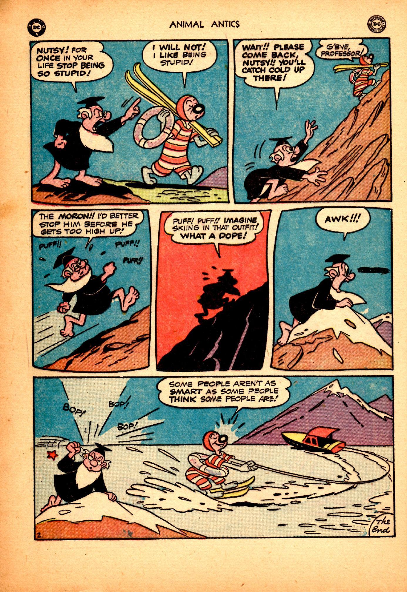 Read online Animal Antics comic -  Issue #25 - 38