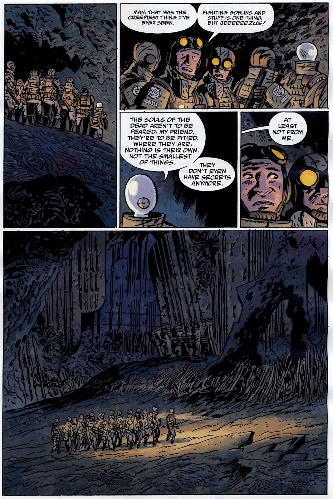 B.P.R.D.: The Warning issue 4 - Page 15