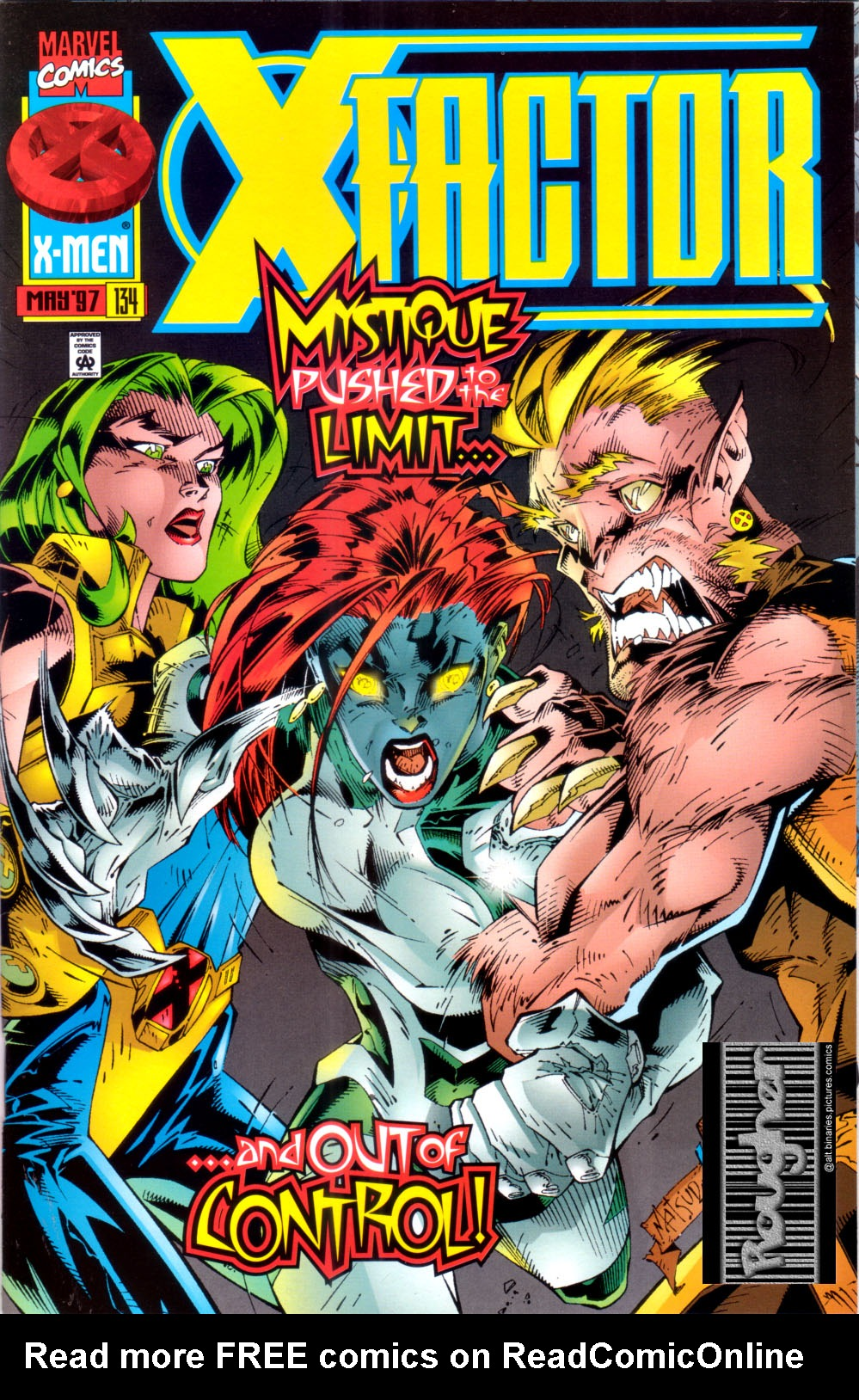 Read online X-Factor (1986) comic -  Issue #134 - 1