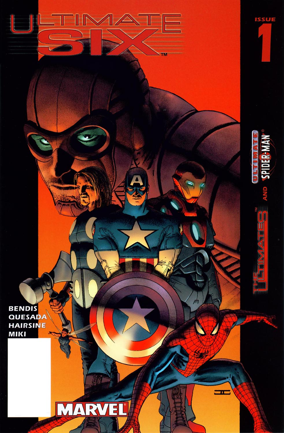 Read online Ultimate Six comic -  Issue #1 - 1