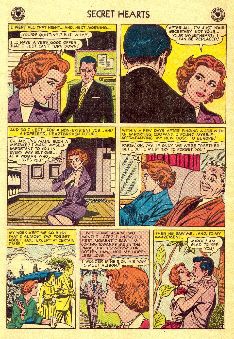 Read online Secret Hearts comic -  Issue #45 - 8