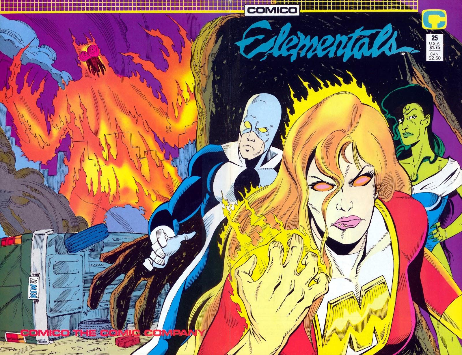 Elementals (1984) issue 25 - Page 1