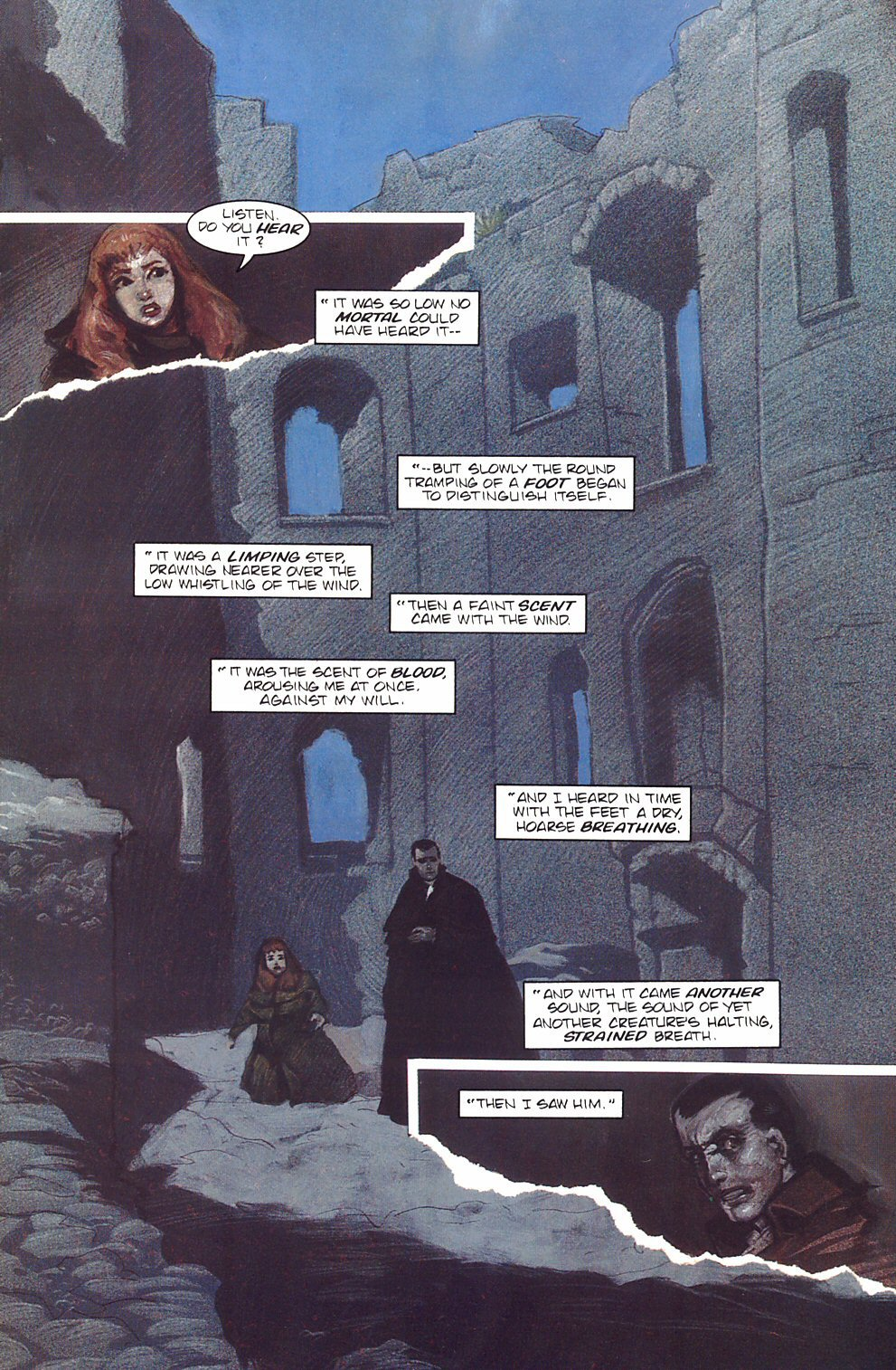 Read online Anne Rice's Interview with the Vampire comic -  Issue #7 - 9
