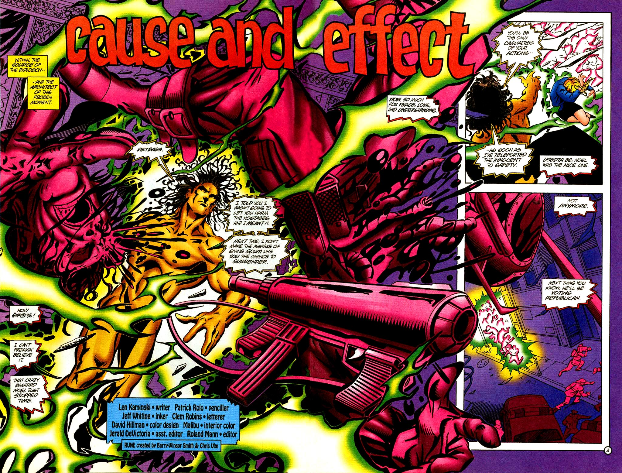 Read online Rune (1995) comic -  Issue #2 - 3