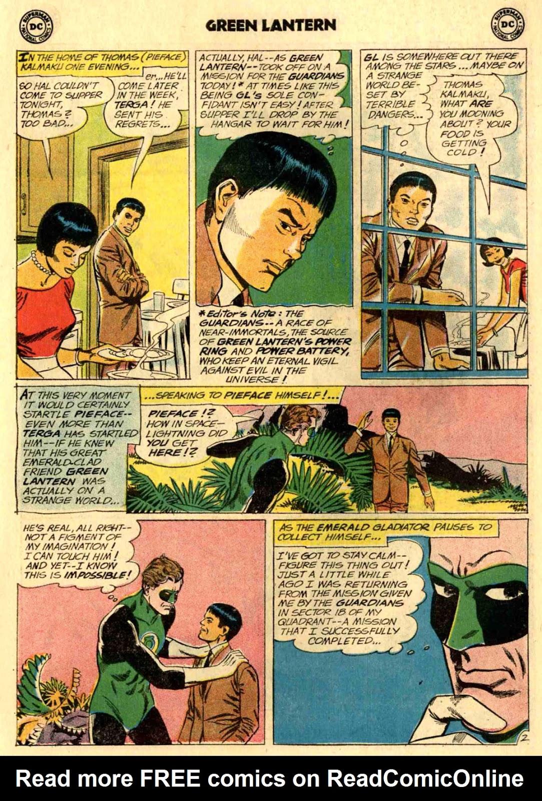 Green Lantern (1960) Issue #24 #27 - English 23