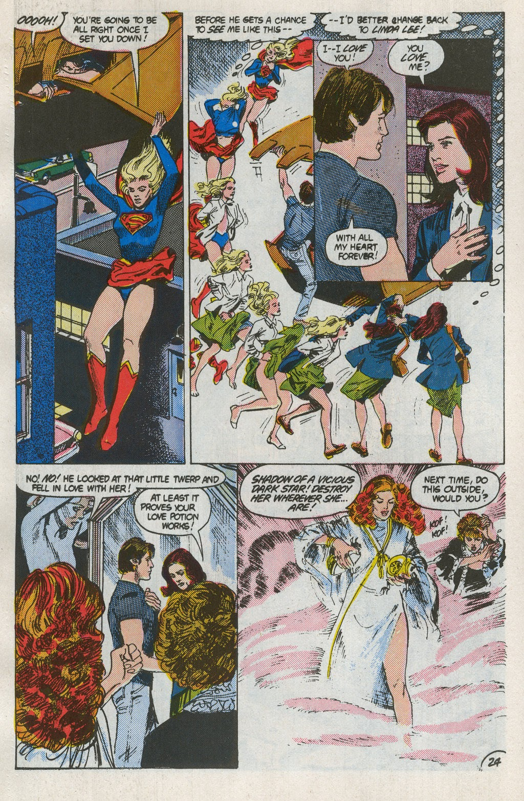 Read online Supergirl Movie Special comic -  Issue # Full - 26