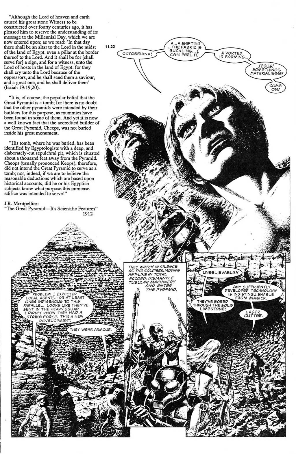 Read online The Adventures of Luther Arkwright comic -  Issue #2 - 17