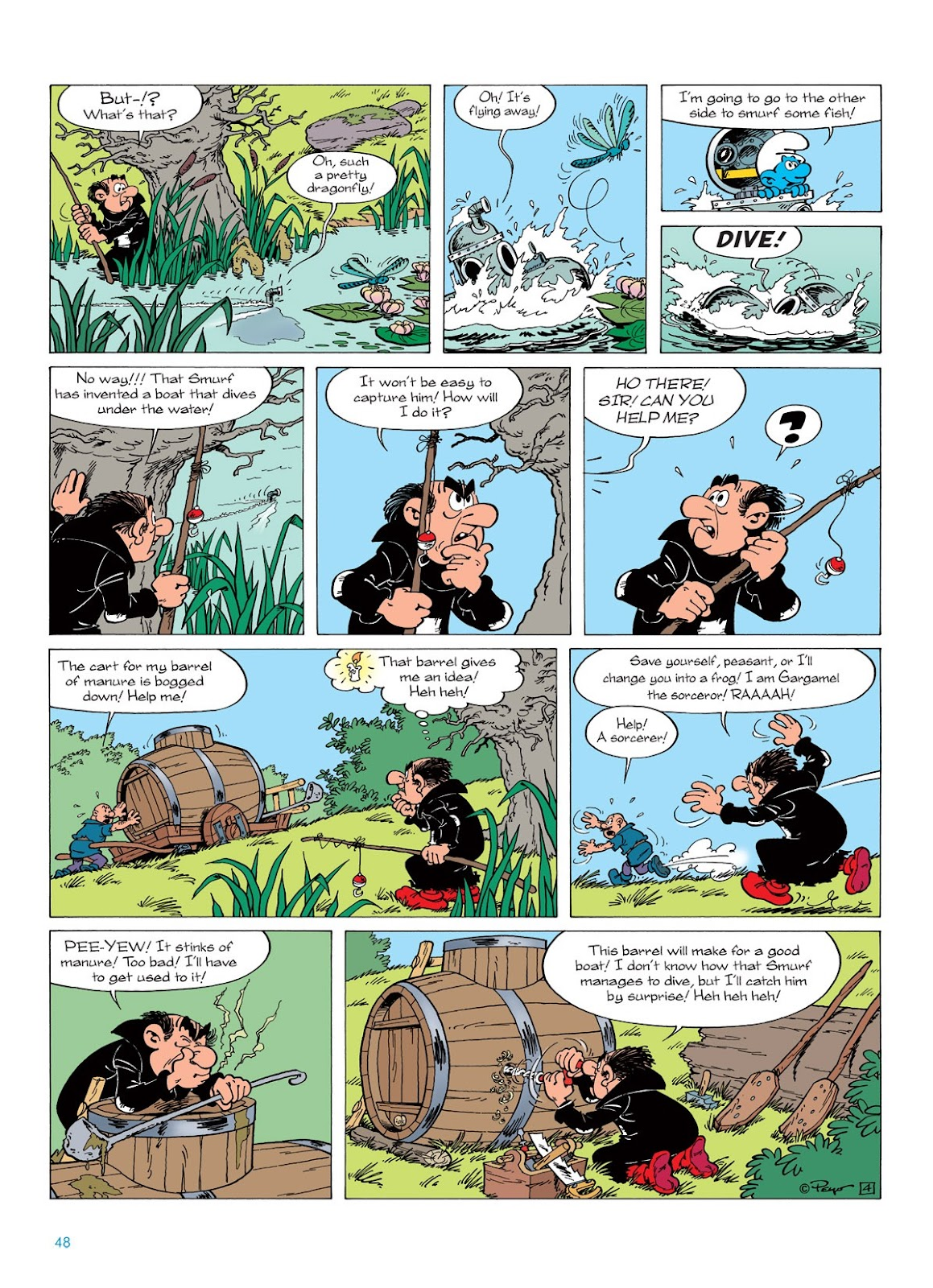 Read online The Smurfs comic -  Issue #7 - 48