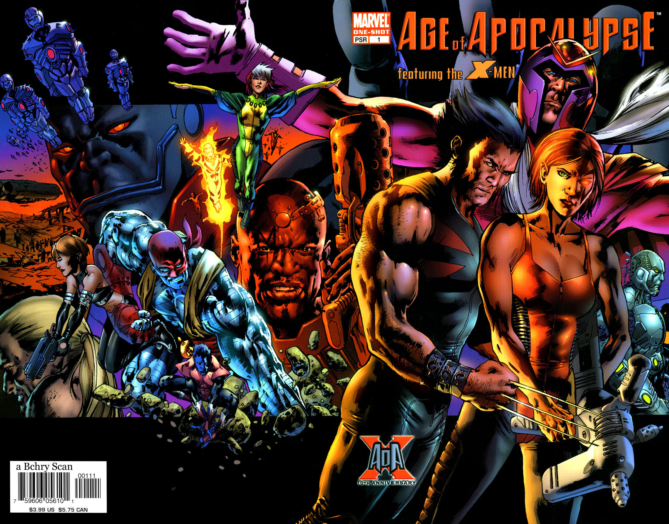 Read online X-Men: Age of Apocalypse One-Shot comic -  Issue # Full - 2