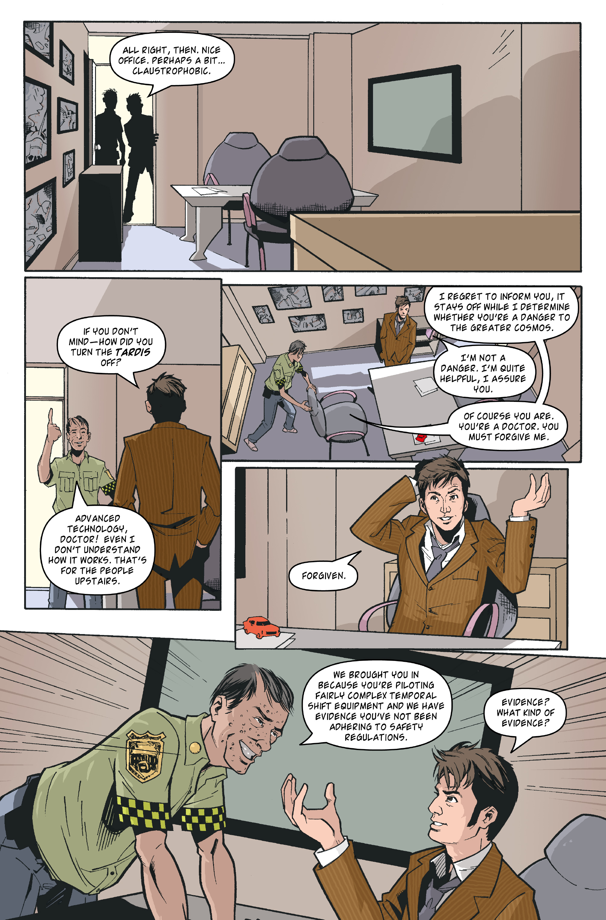 Read online Doctor Who: The Tenth Doctor Archives comic -  Issue #35 - 8