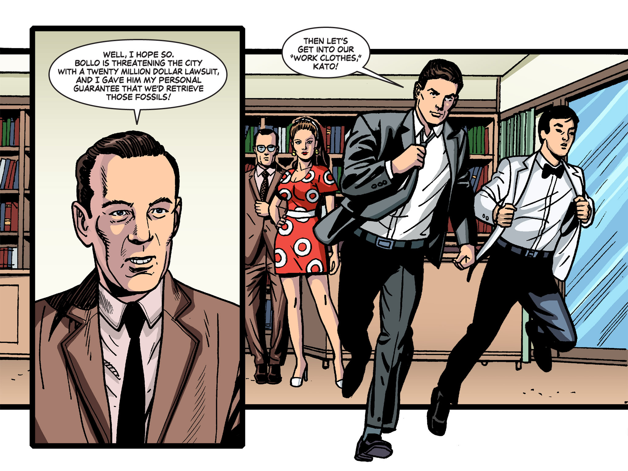 Read online Batman '66 Meets the Green Hornet [II] comic -  Issue #4 - 59