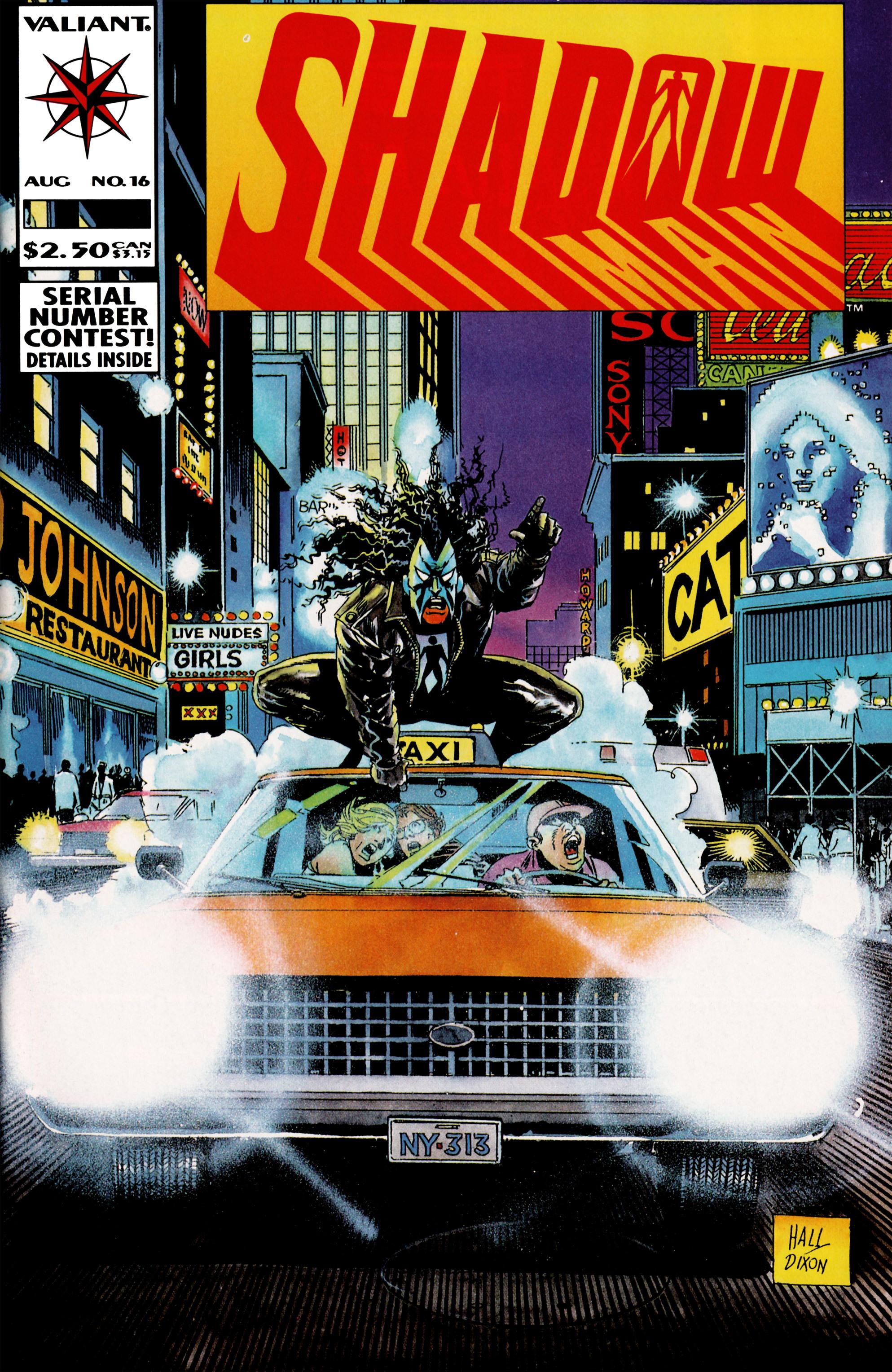 Read online Shadowman (1992) comic -  Issue #16 - 1