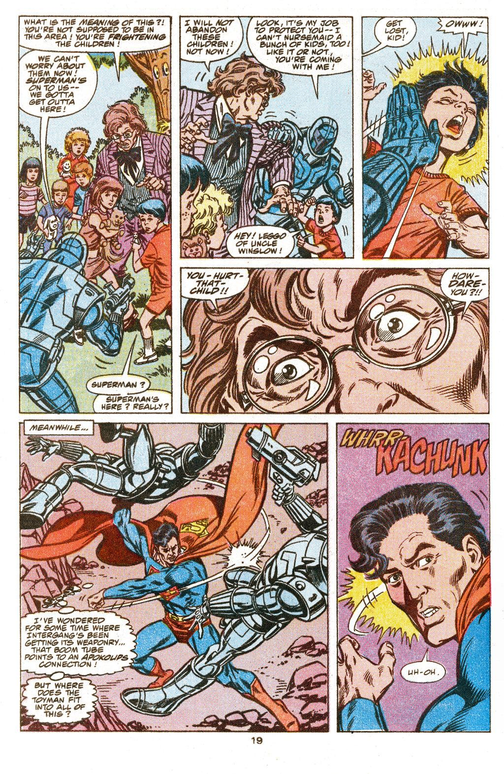 Read online Action Comics (1938) comic -  Issue #657 - 20