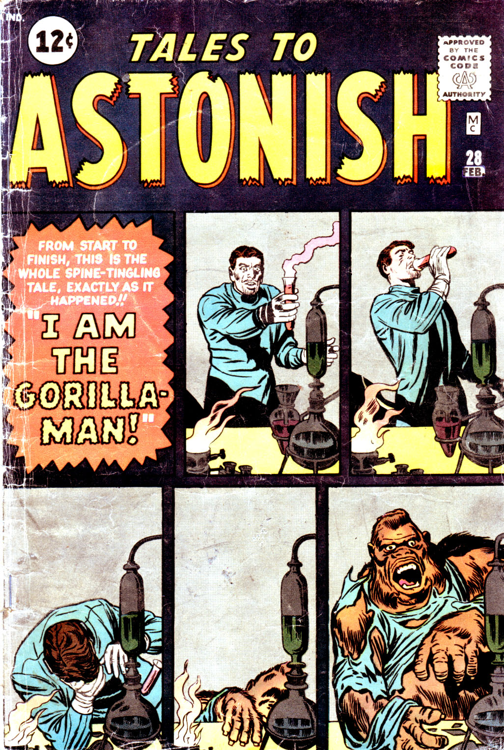 Tales to Astonish (1959) issue 28 - Page 1