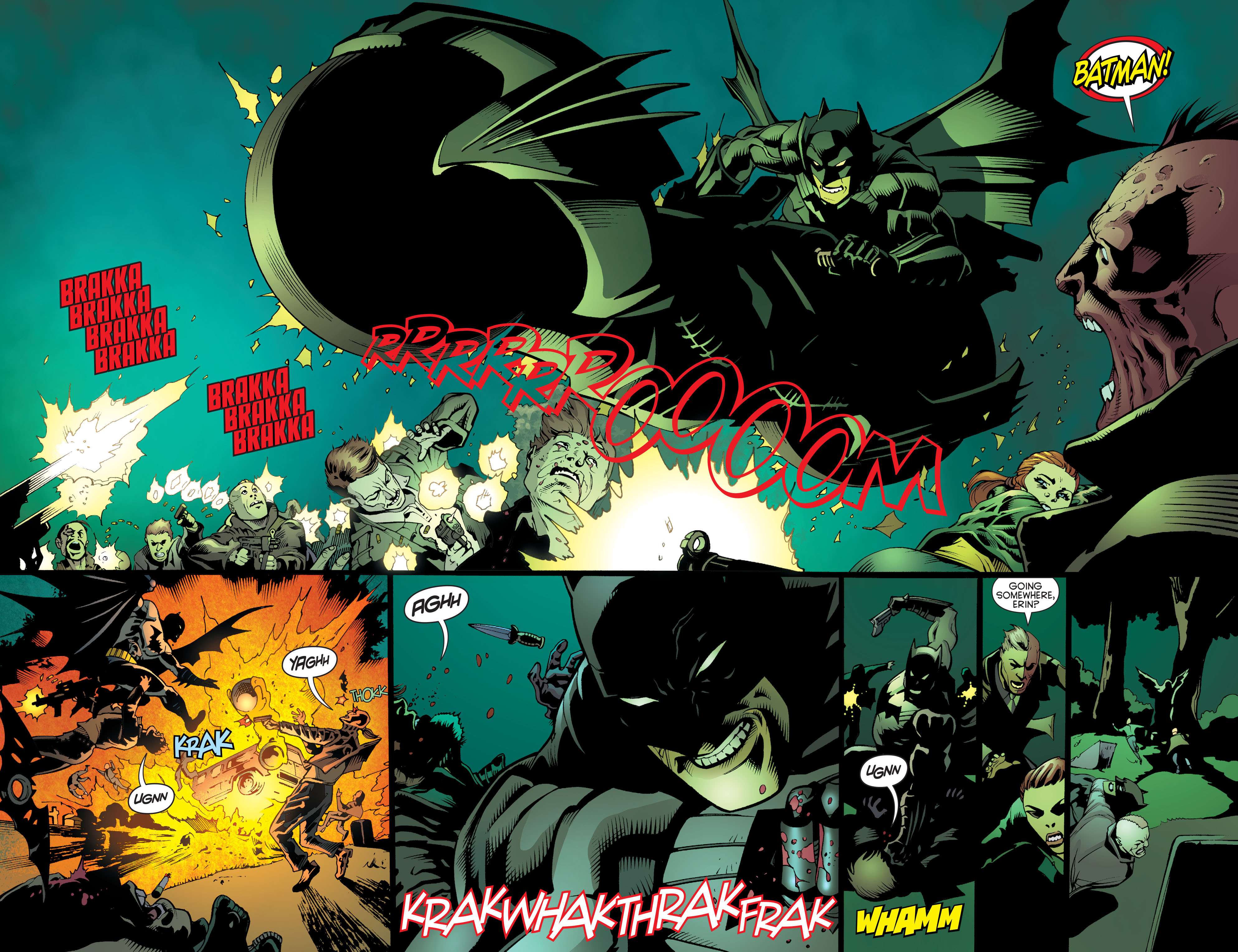 Read online Batman and Robin (2011) comic -  Issue #26 - Batman and Two-Face - 17