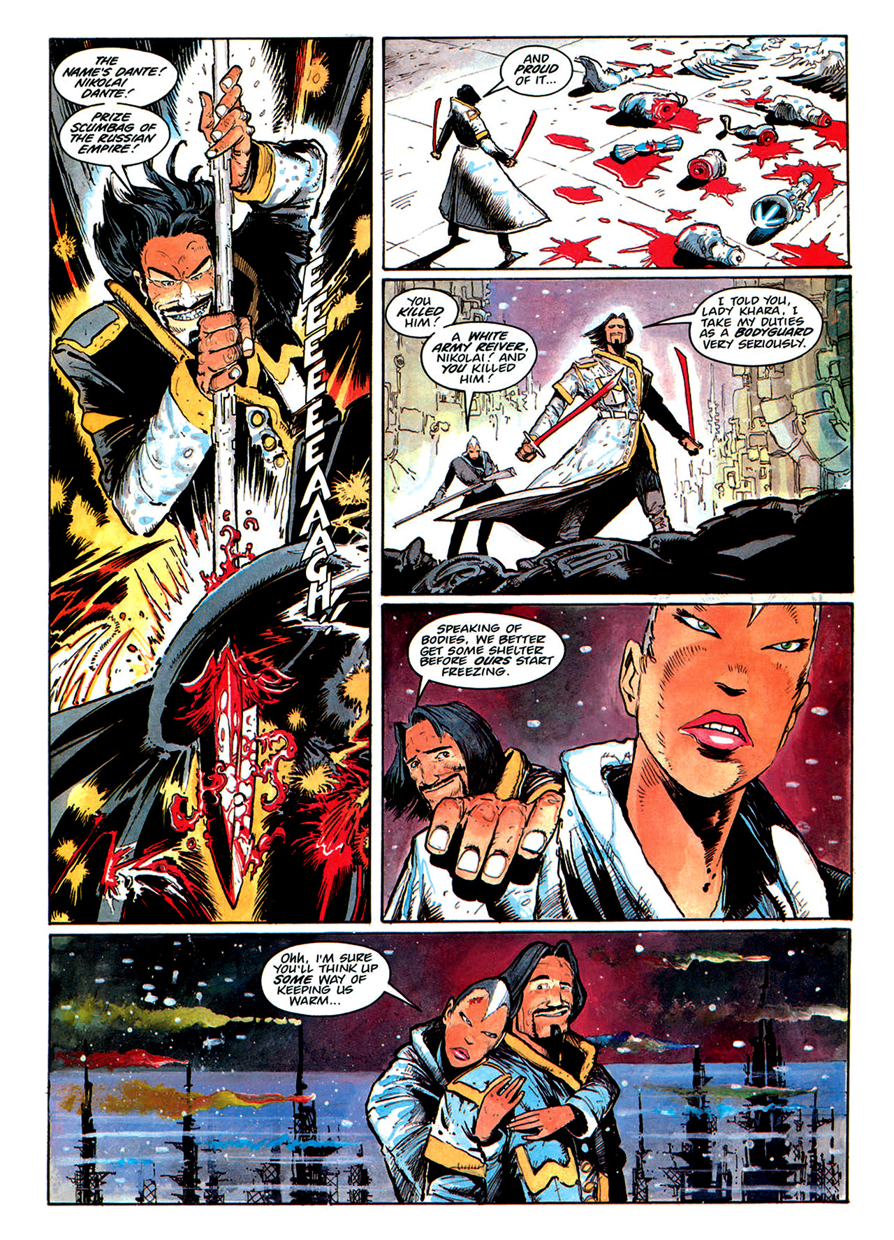 Read online Nikolai Dante comic -  Issue # TPB 1 - 175