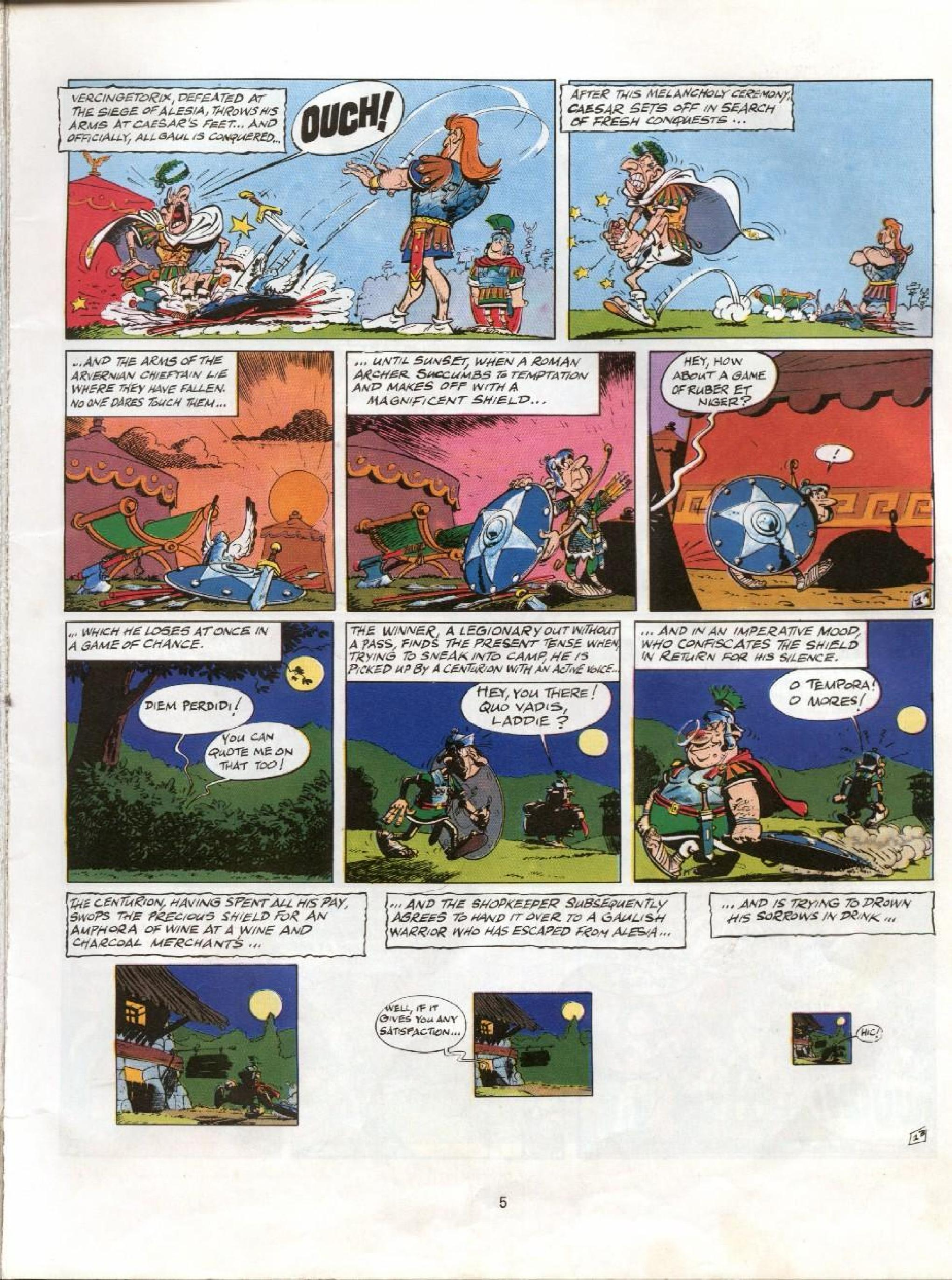 Read online Asterix comic -  Issue #11 - 2