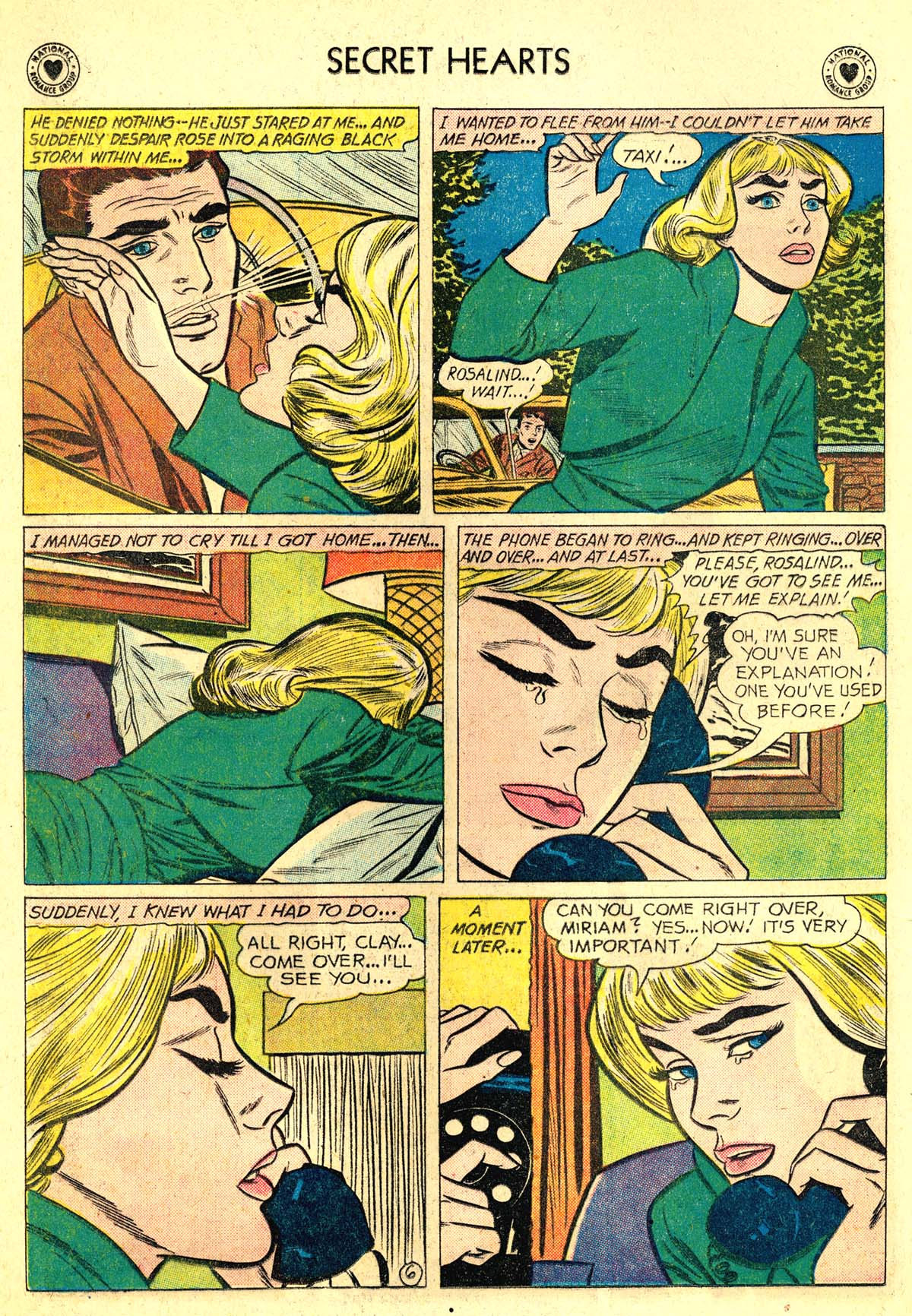 Read online Secret Hearts comic -  Issue #64 - 8