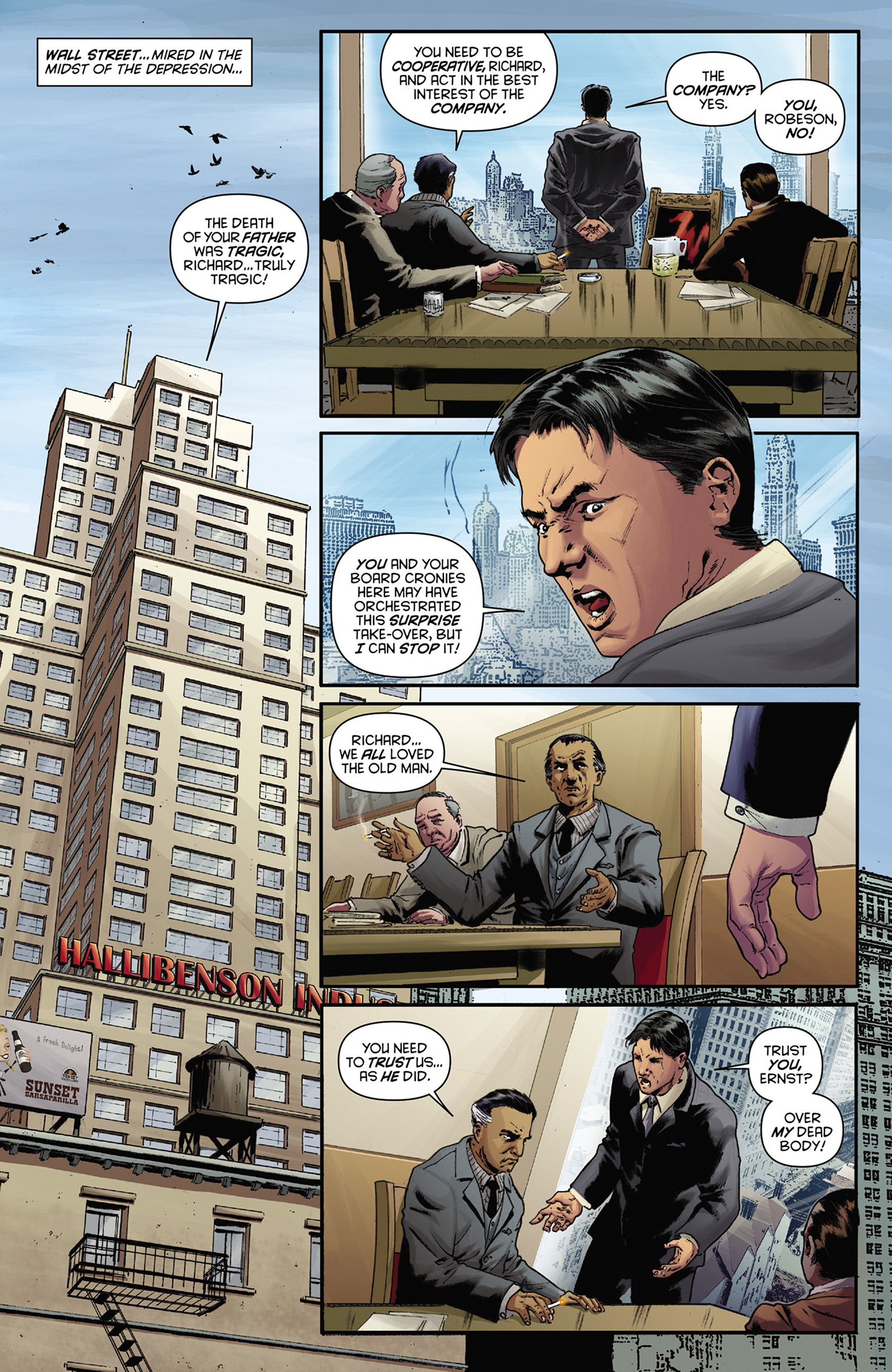 Read online Justice, Inc. comic -  Issue #1 - 12