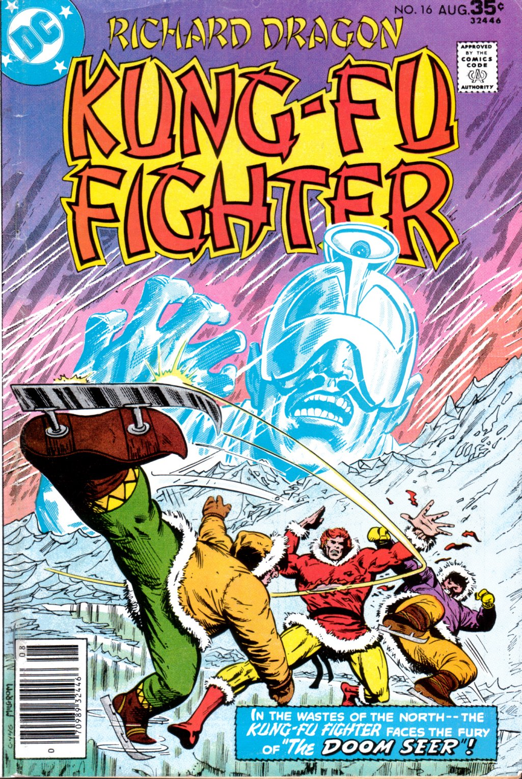 Richard Dragon, Kung-Fu Fighter 16 Page 1