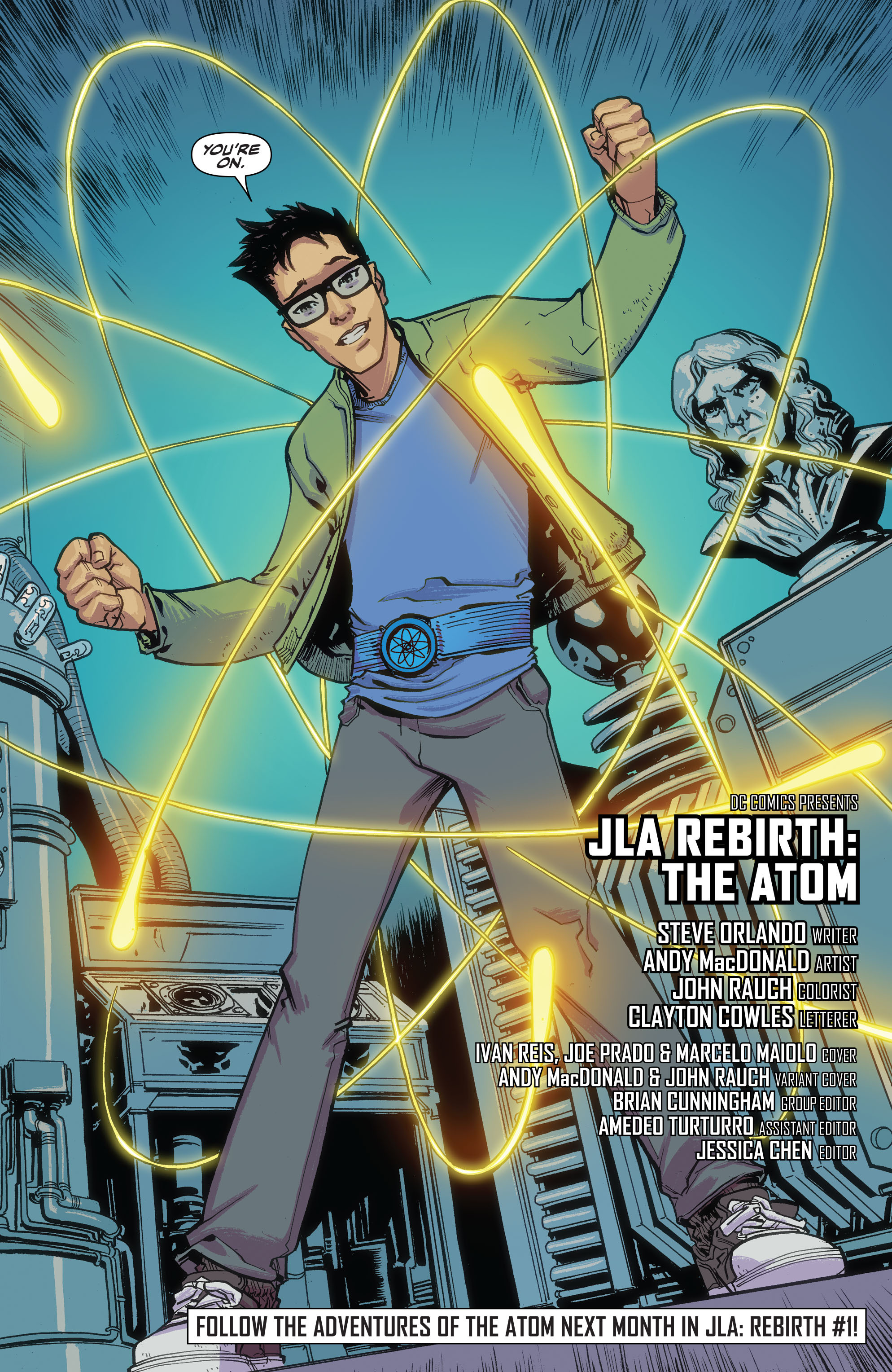 Read online Justice League of America: The Atom Rebirth comic -  Issue # Full - 22