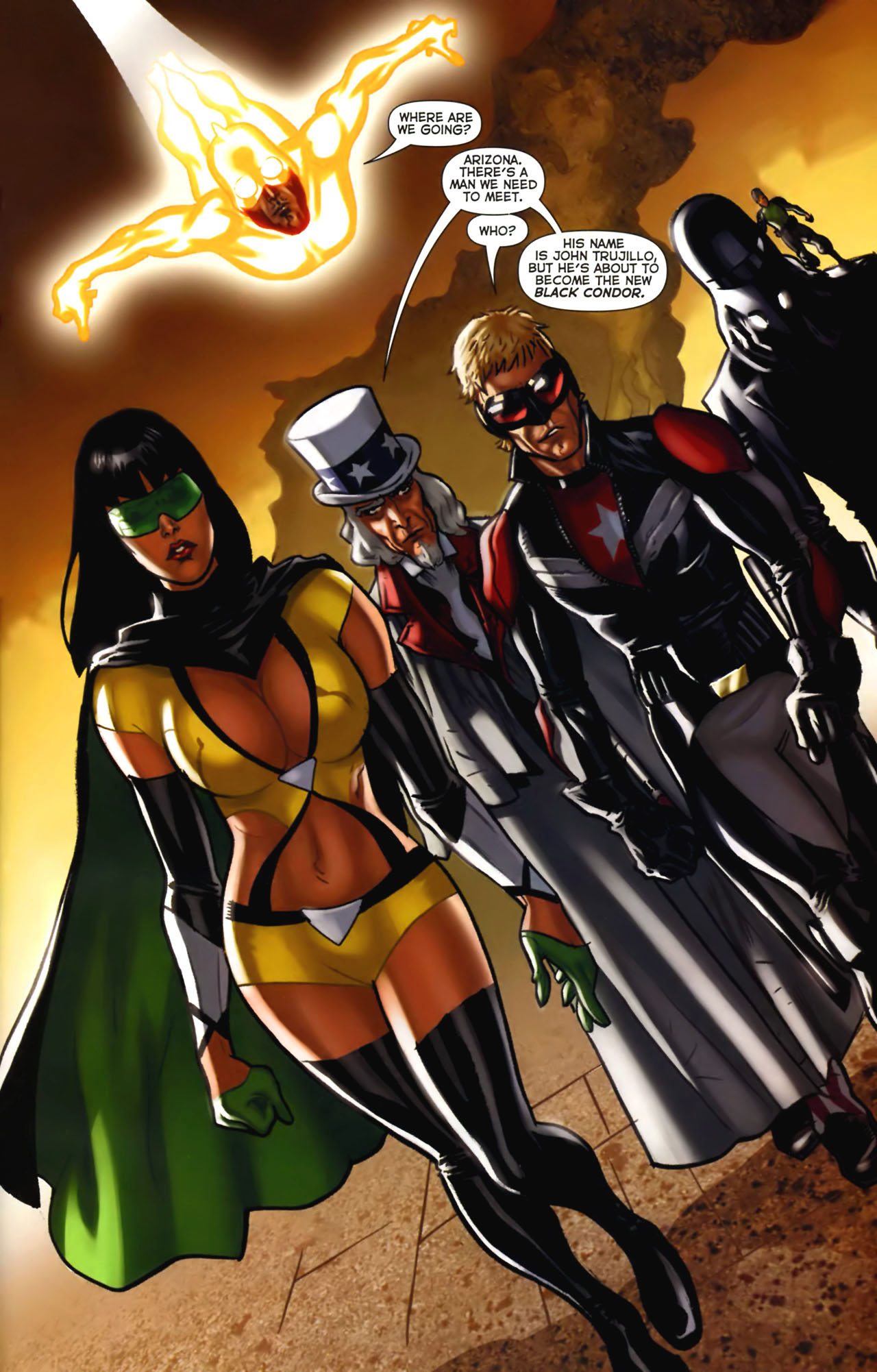 Read online Uncle Sam and the Freedom Fighters (2006) comic -  Issue #2 - 22