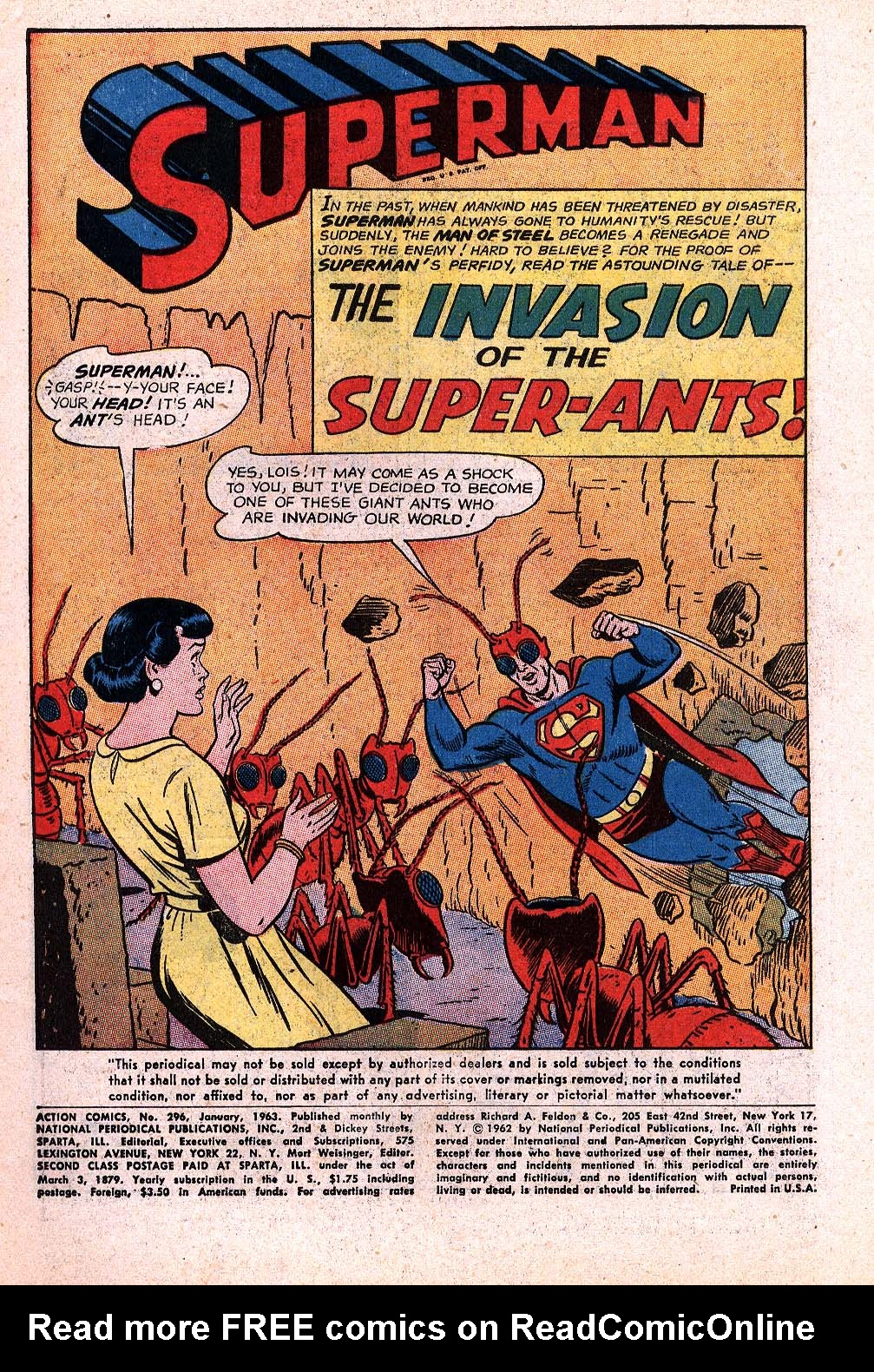 Read online Action Comics (1938) comic -  Issue #296 - 3