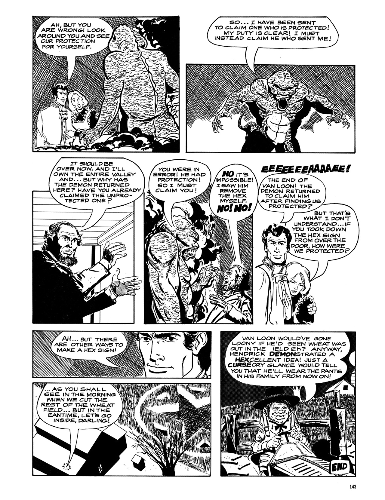 Read online Eerie Archives comic -  Issue # TPB 5 - 144