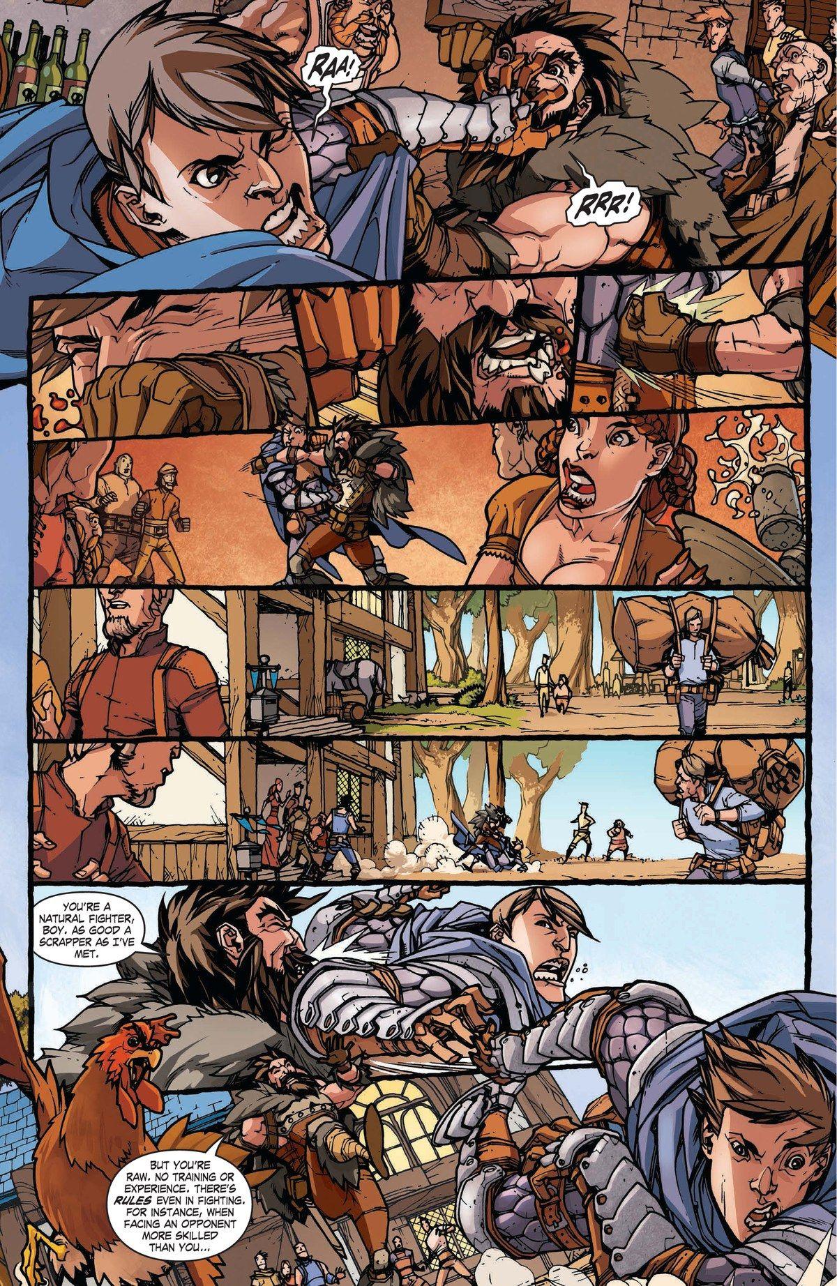 Read online World of Warcraft: Dark Riders comic -  Issue # Full - 9
