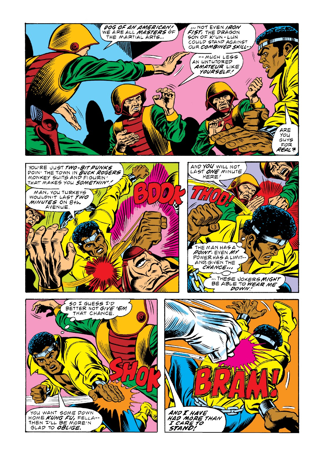 Read online Marvel Masterworks: Luke Cage, Power Man comic -  Issue # TPB 3 (Part 1) - 88