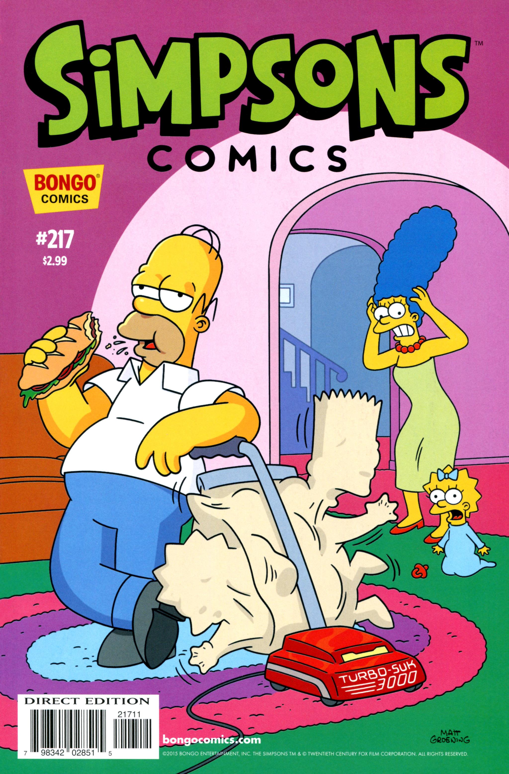Simpsons Comics 217 Page 1