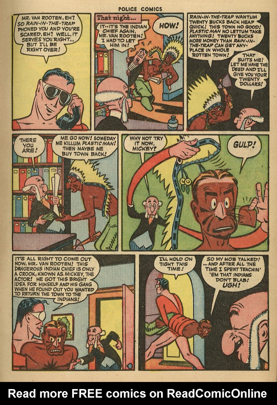 Police Comics issue 45 - Page 17