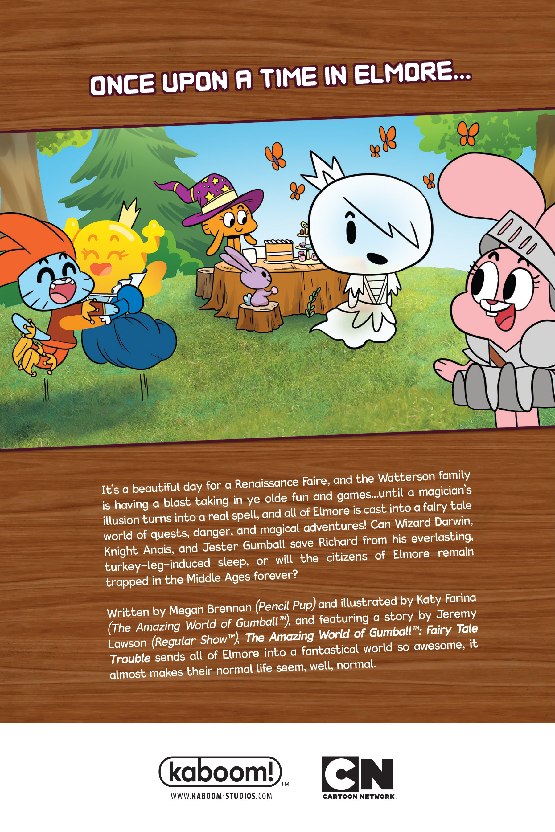 Read online The Amazing World of Gumball: Fairy Tale Trouble comic -  Issue # Full - 162