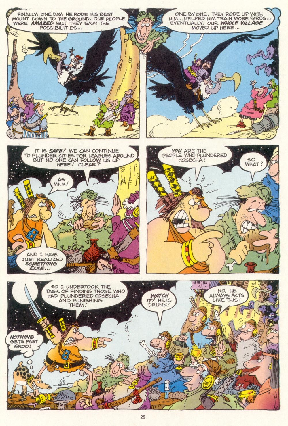 Read online Sergio Aragonés Groo the Wanderer comic -  Issue #114 - 27