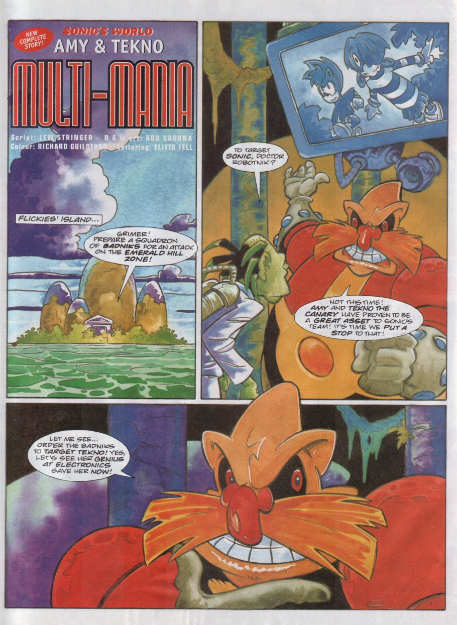 Read online Sonic the Comic comic -  Issue #118 - 21