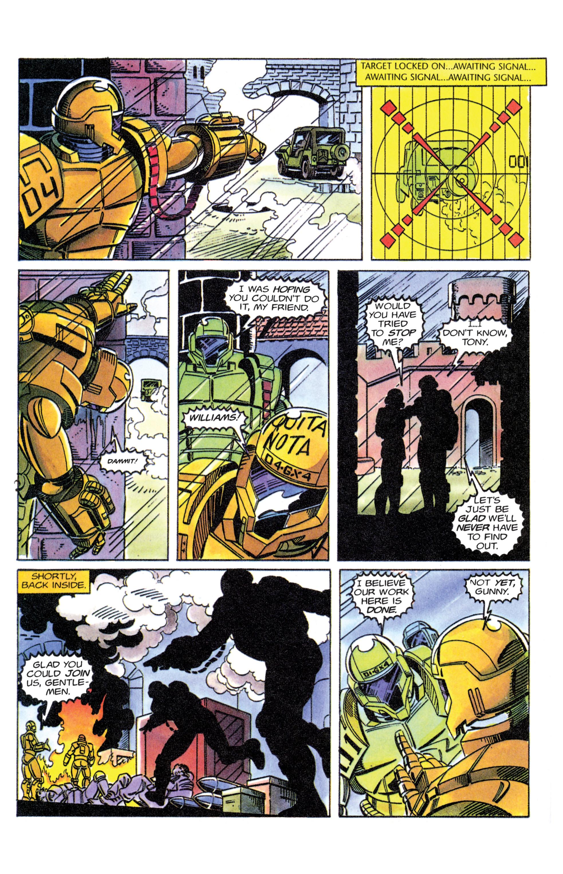 Read online Armorines comic -  Issue #11 - 19