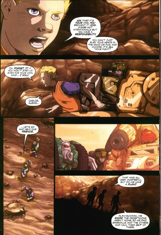 Read online Transformers Armada comic -  Issue #7 - 13
