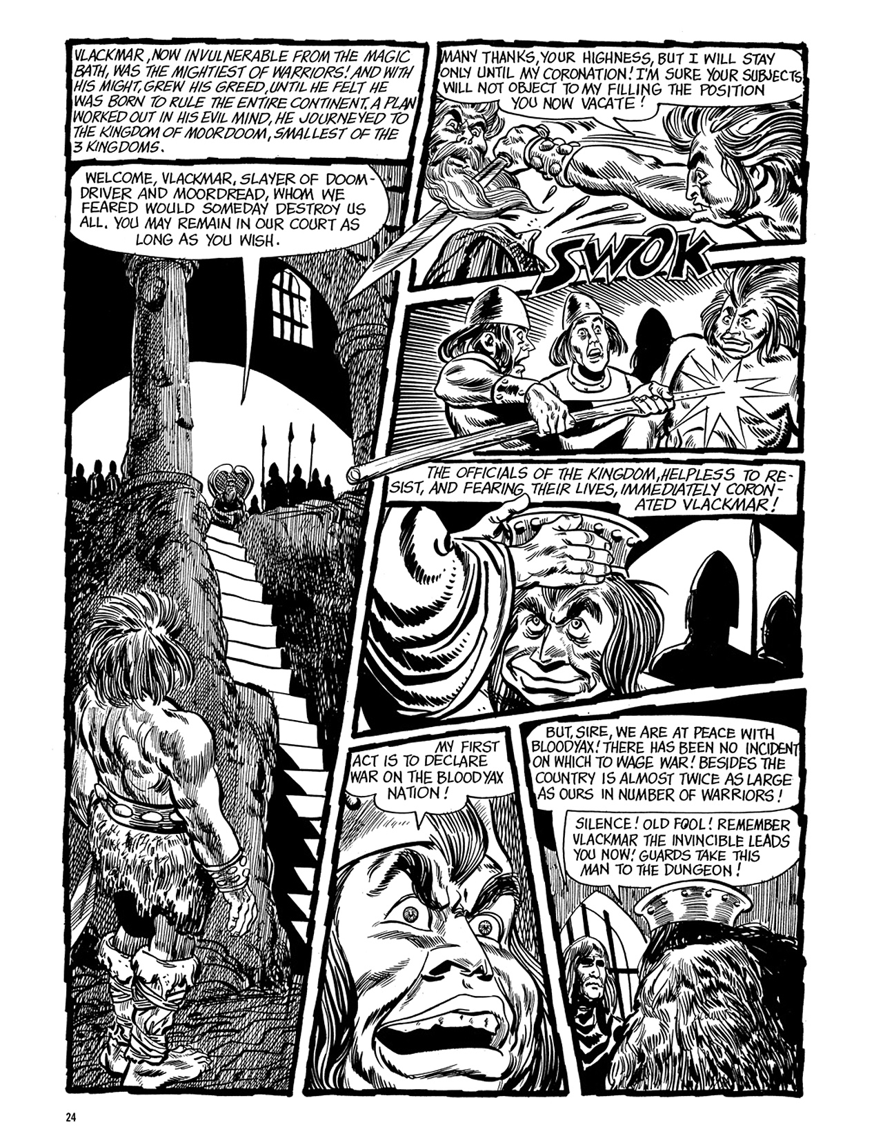 Read online Eerie Archives comic -  Issue # TPB 5 - 25