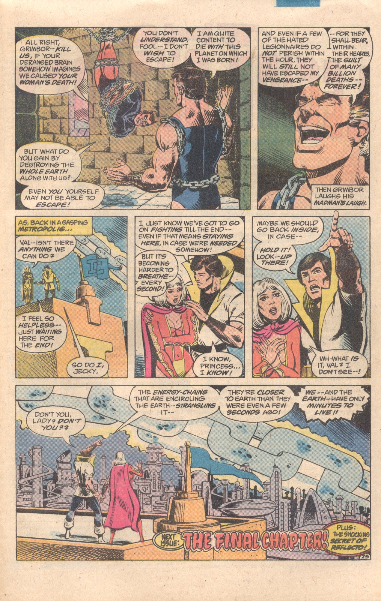 Legion of Super-Heroes (1980) 278 Page 25