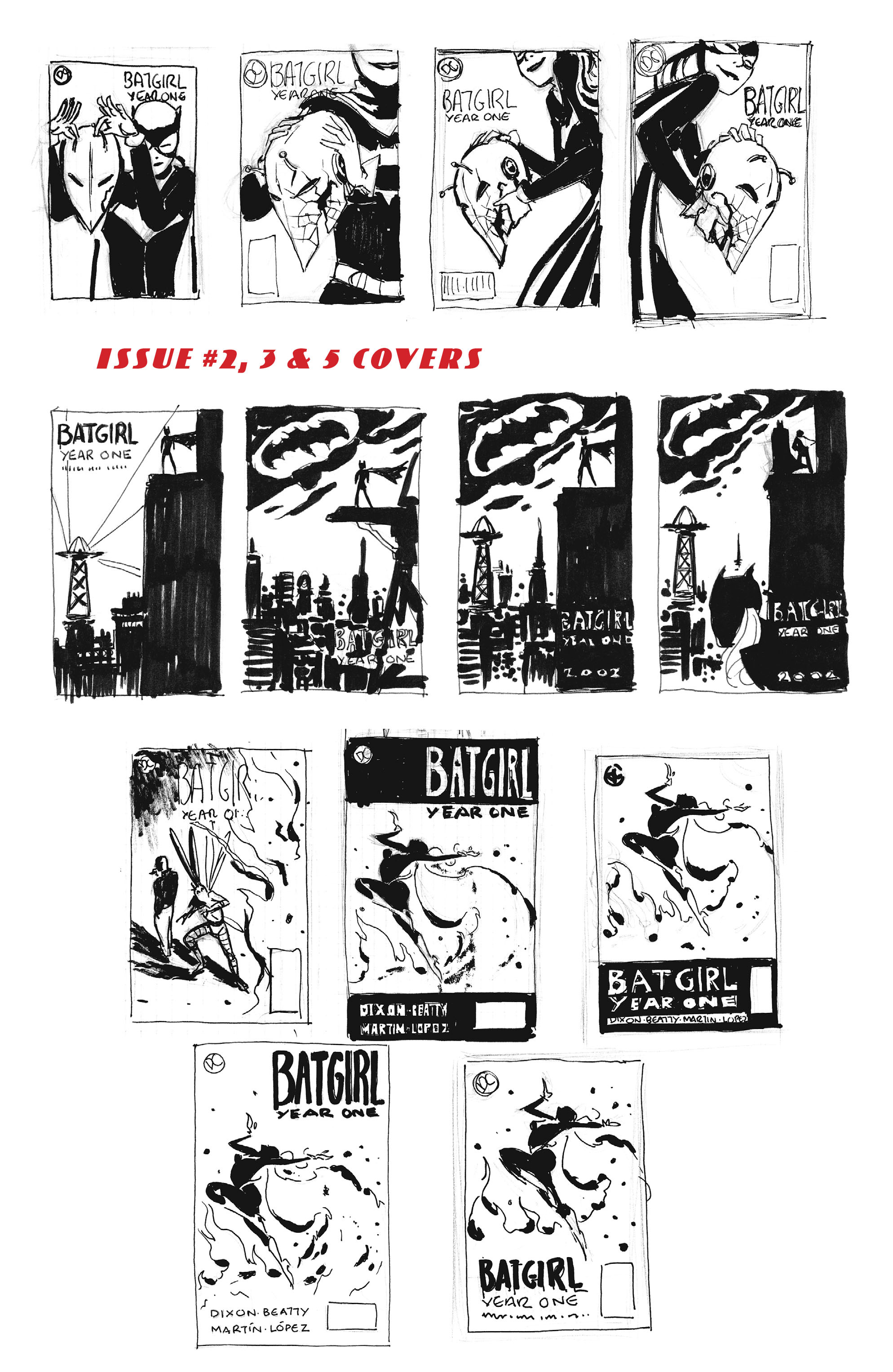 Read online Batgirl/Robin: Year One comic -  Issue # TPB 2 - 205