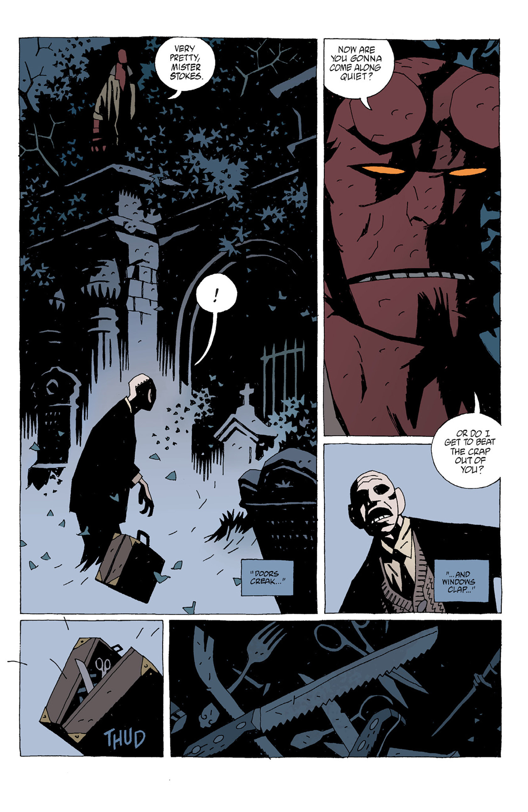 Read online Hellboy: The Troll Witch and Others comic -  Issue # TPB - 73
