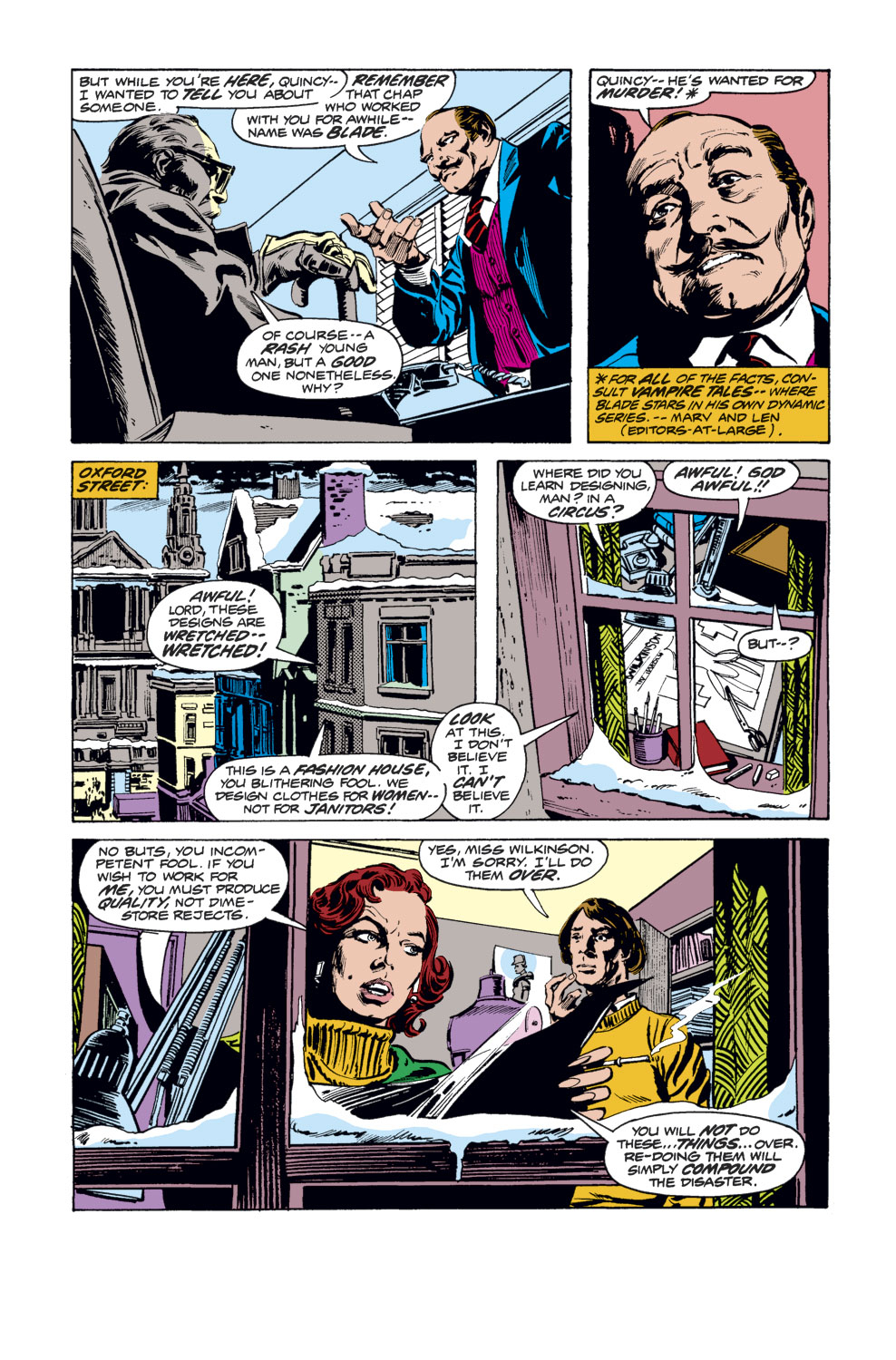 Tomb of Dracula (1972) issue 34 - Page 12