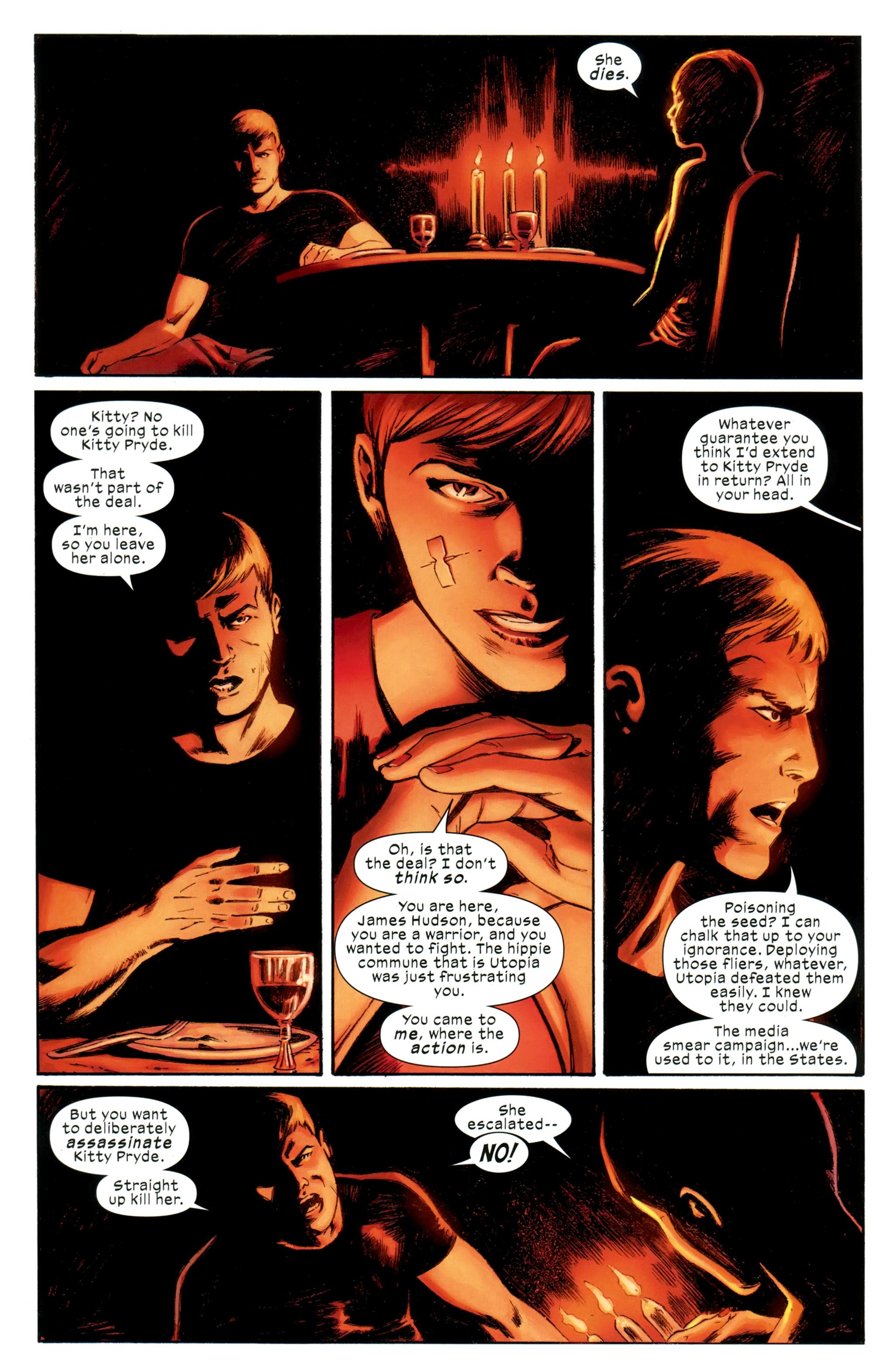 Read online Ultimate Comics X-Men comic -  Issue #31 - 7