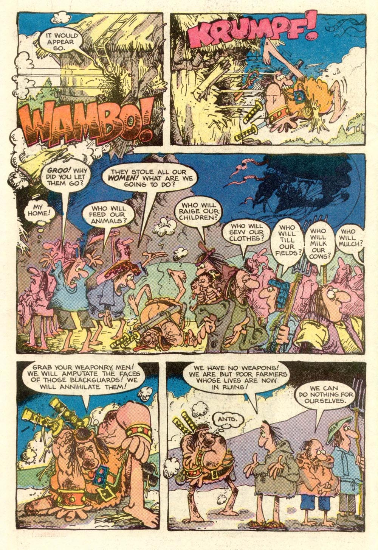 Read online Sergio Aragonés Groo the Wanderer comic -  Issue #4 - 6